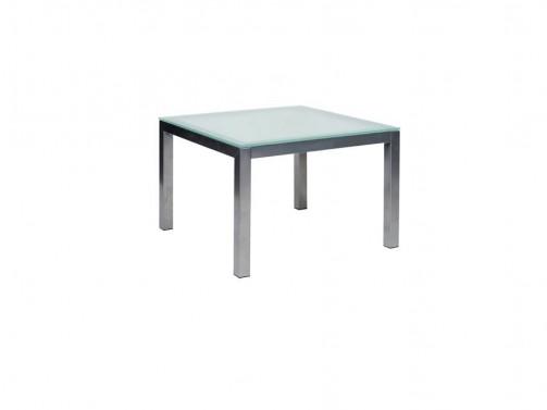 Stolik zblatem szklanym, 60 x 60 x 41,5 cm
