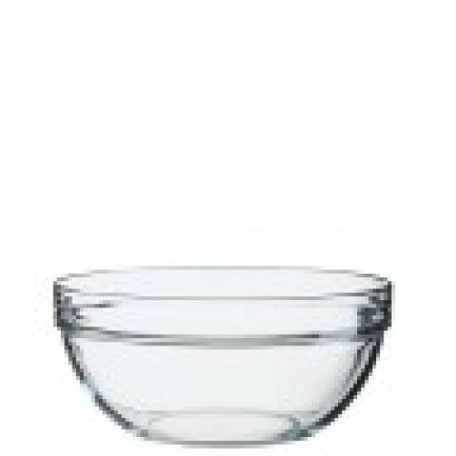 Miska szklana, śr. 20 cm, wys. 9,2 cm, poj.1,8 l