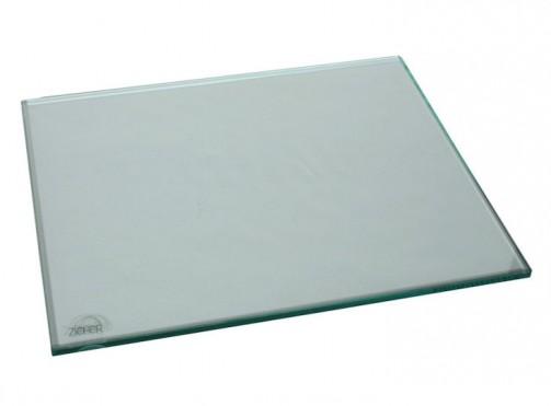 Płyta szklana Zieher, przezroczysta, 42 x 34 cm