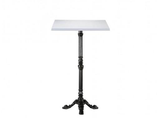 Stół koktajlowy, biały, 70 x 70 cm