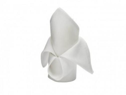 Serweta bawełniana, biała, 40 cm x 40 cm
